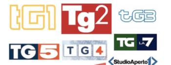 Profilo dei telegiornali nazionali del prime time: tempi, ritmi, stili, contenuti