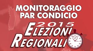 Elezioni regionali 2015: monitoraggio par condicio
