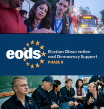 EODS, building EU election observation capacity