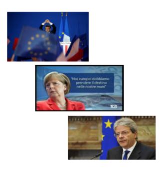La rappresentazione europea nei telegiornali