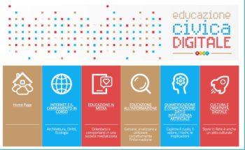 Educazione civica digitale al via nelle scuole