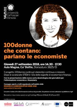 100 donne che contano: parlano le economiste