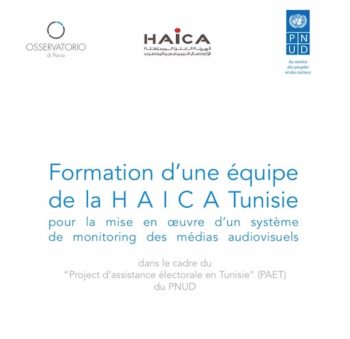 Atelier de formation à l'intention d'une équipe de la HAICA Tunisie