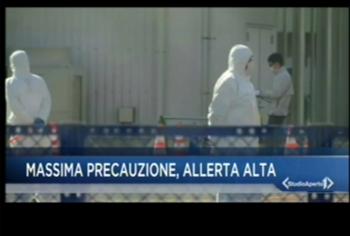 Il contagio del coronavirus nei telegiornali italiani