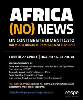 Africa (no) news. Un continente dimenticato dai media durante l'emergenza Covid-19