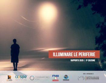 """Terza edizione del Rapporto """"Illuminare le periferie"""""""