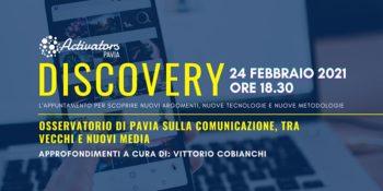 Discovery: l'Osservatorio di Pavia tra vecchie e nuovi media