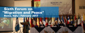 Sixth International Forum on Migration and Peace