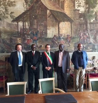 Visita delegazione della National Media Commission (Ghana)