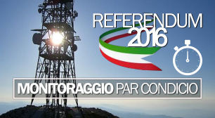 Referendum costituzionale 2016: monitoraggio par condicio