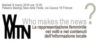 Who makes the news: a far notizie nelle TV locali italiane sono soprattutto gli uomini
