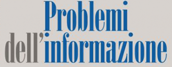 Problemi dell'informazione 3/2015, Donne nel giornalismo italiano
