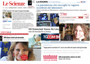 100 donne contro gli stereotipi: rassegna stampa